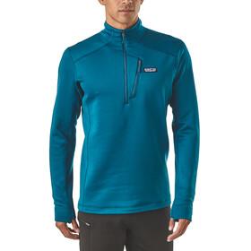 Patagonia M's Crosstrek 1/4 Zip Shirt Big Sur Blue